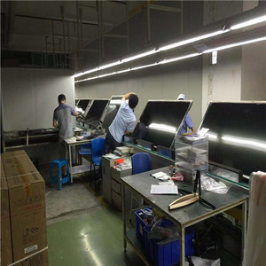 Large screen TV production line